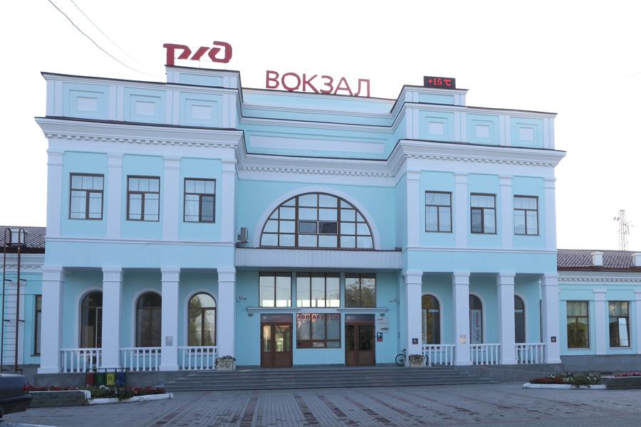 Железнодорожный вокзал Уссурийск